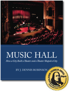 Music Hall Benjamin Franklin Gold Award 2020